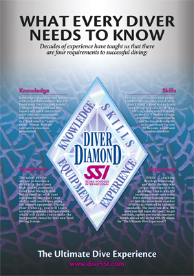 diveSSI Image: Poster_DiverDiamond