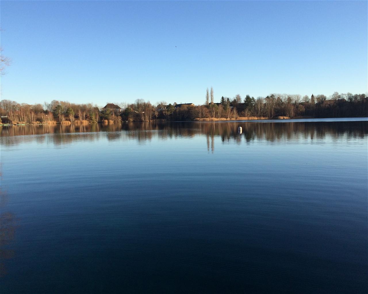Kreidesee Hemmoor - Einstieg 1