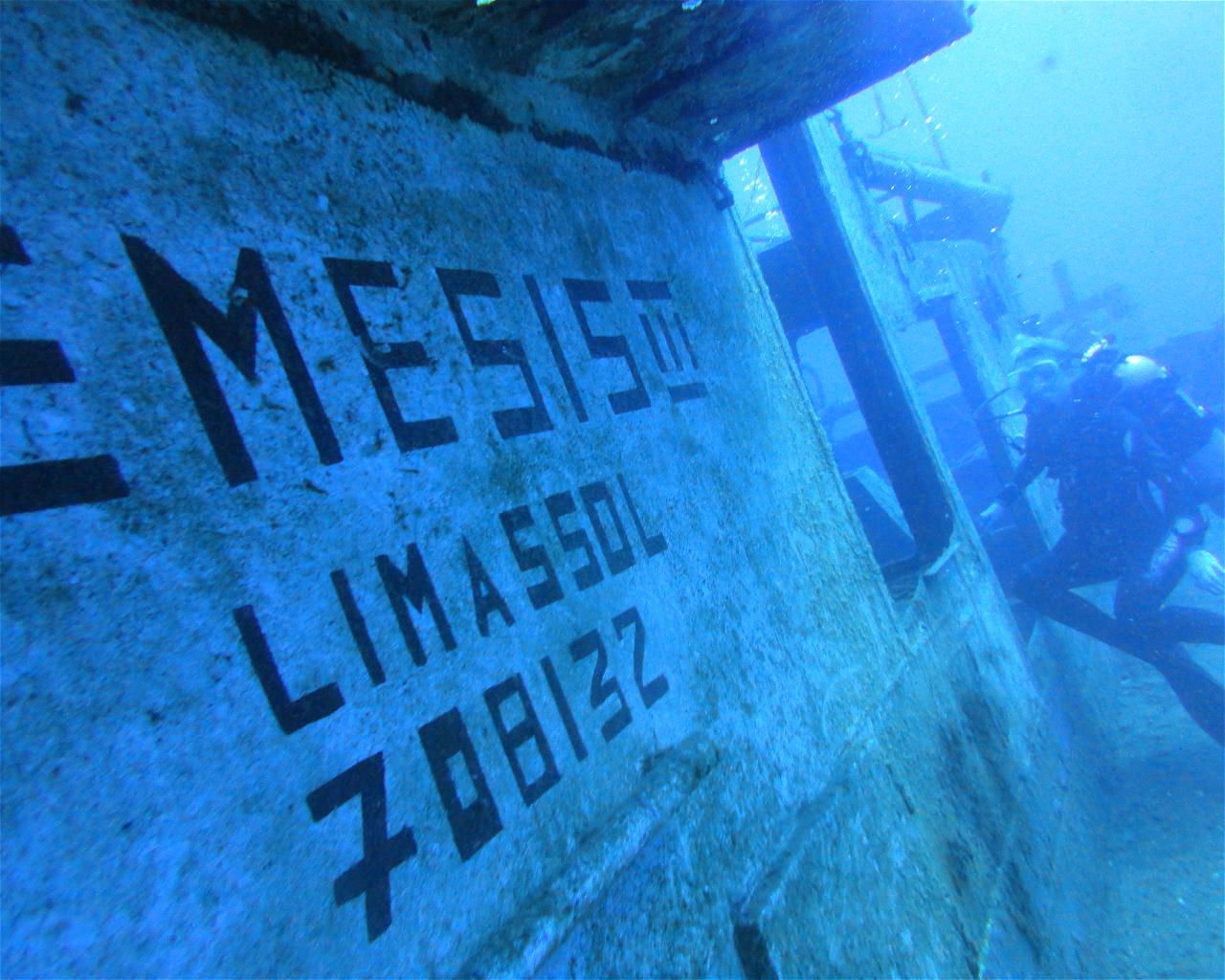 Nemesis III Wreck, Cyprus