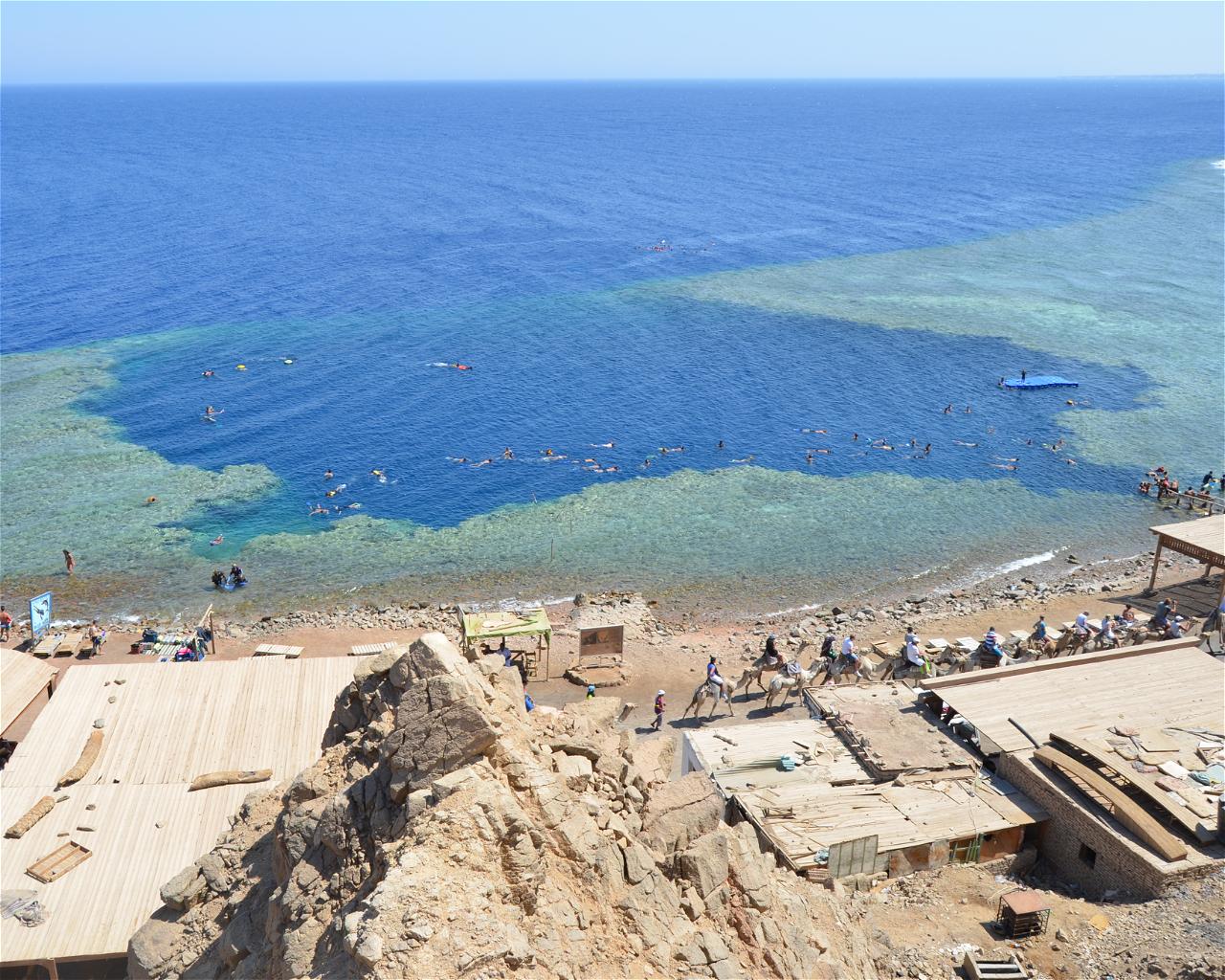 Blue Hole, Dahab
